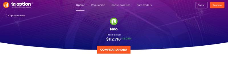 Como comprar NEO