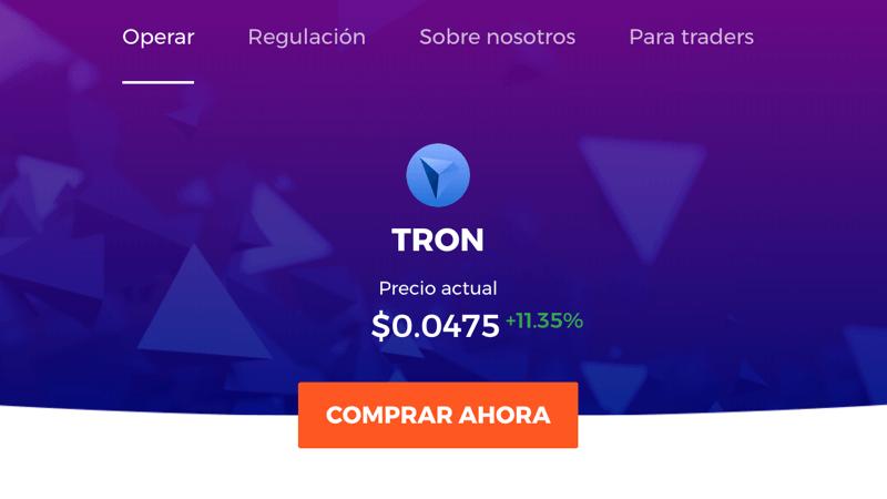 Cómo comprar TRON